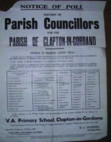 Parish Councillors newspaper article